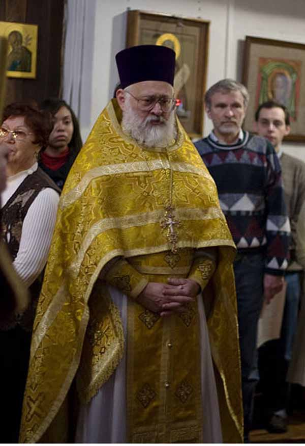 О. Михаил – настоятель Храма Христа Спасителя в Нью-Йорке