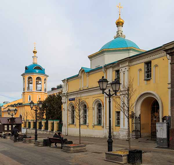 Соборование в Московском храме на площади Юрия Долгорукого.