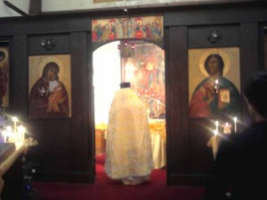 Храм Христа Спасителя в Нью-Йорке.