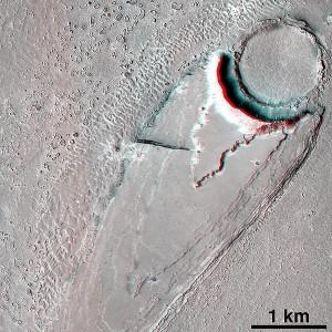 Знаки ряби. Марс. Плато Цербера.