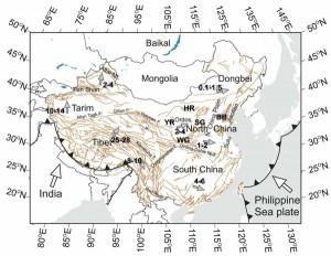 Три движущие силы тектоник Китая