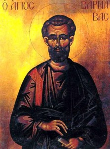 Апостол от 70-ти Варнава.