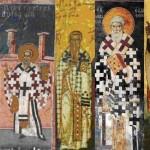Апостол Иаков, брат Господень по плоти, первый епископ Иерусалимский.