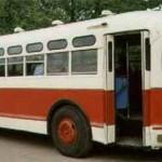 Наманганский автобус в конце 50-х прошлого века.