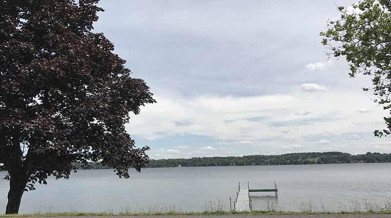 Пальчиковое озеро Аваско.