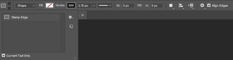 Rectangle Toolbar