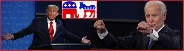 """Вторые дебаты: кандидаты в Президенты США держали себя """"в руках"""".22.10.2020."""