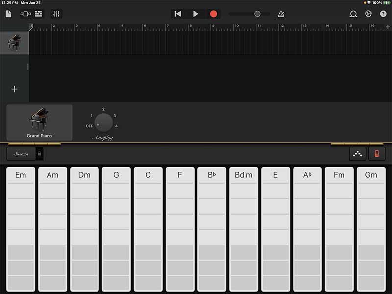 Smart Keyboard. Ссоздание клавишных партий по аккордам.