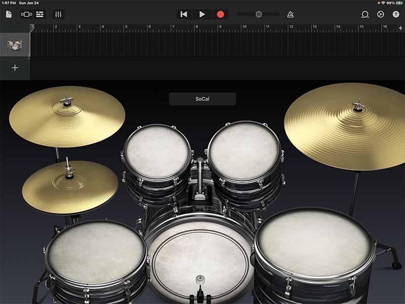 Виртуальный барабан