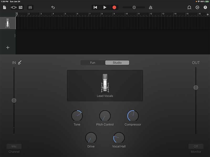 Audio Recorder. Voice.
