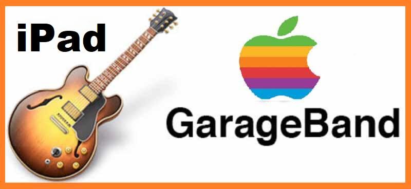 Приложение GarageBand для планшетника iPad