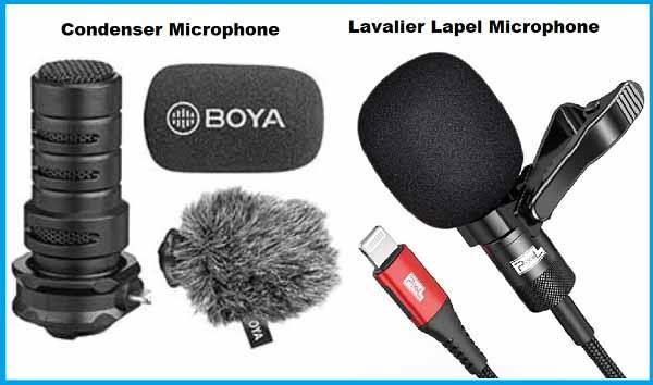 Condenser & Lavalier Mics